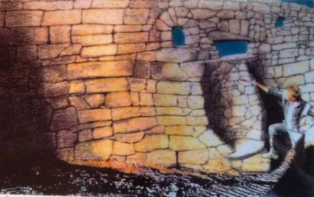 Невозможные артефакты  (великая техасская стена).