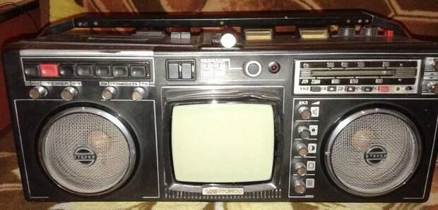 Советские телемагнитолы. Видали такое?