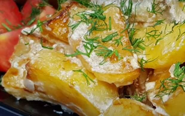 Отличное блюдо к ужину: баклажаны с картофелем