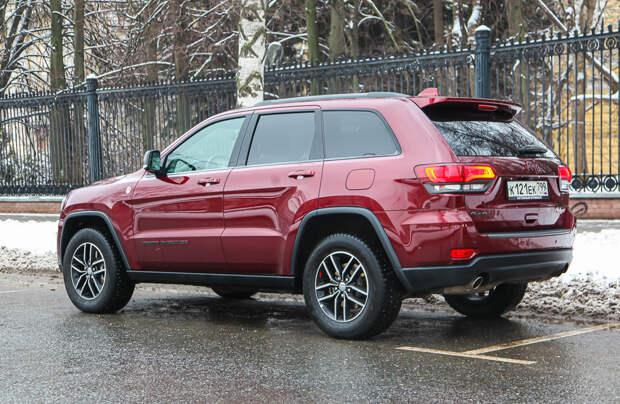 Тест-драйв: Jeep Grand Cherokee Trailhawk