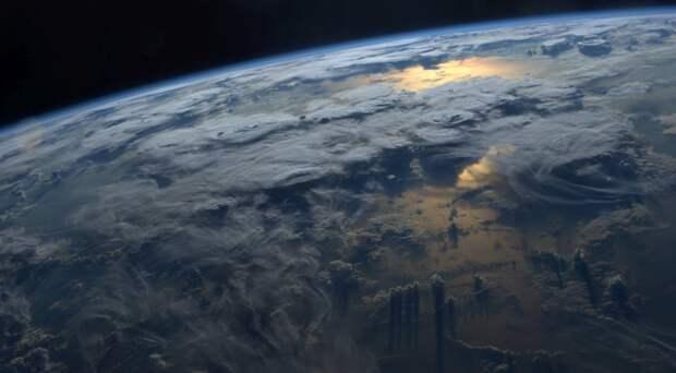 Потрясающие фотографии Земли из космоса от космонавта Джеффа Уильямс земля, космонавт, космос