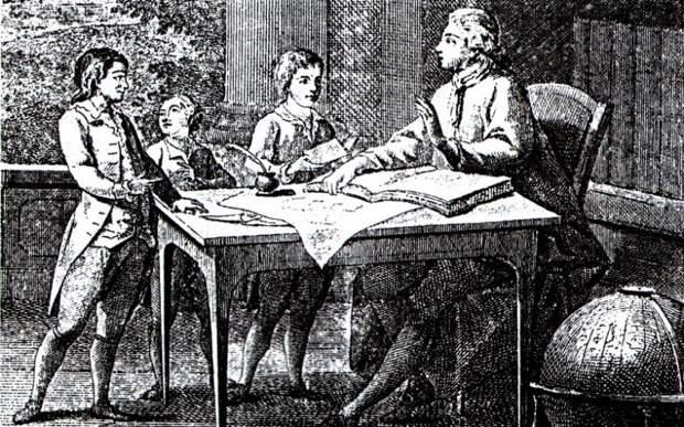 Чему учили детей в России XVIII века?