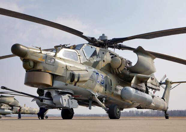 Авиация ЗВО пополнится до конца года 10-ю новейшими ударными вертолетами