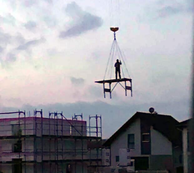 Летающий человек.
