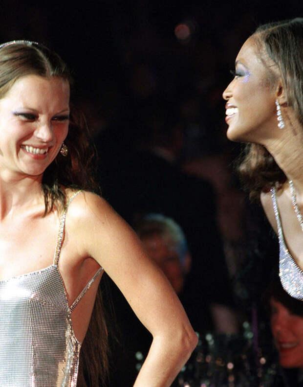 Girls Power: дружба Кейт Мосс и Наоми Кэмпбелл в 20-ти фотографиях | галерея [1] фото [8]