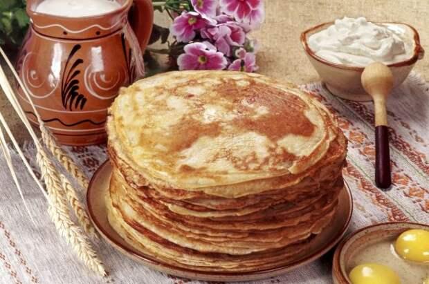 Легче всего усваиваются блины и оладьи, приготовленные из гречневой муки, а также традиционные блины с припёком.