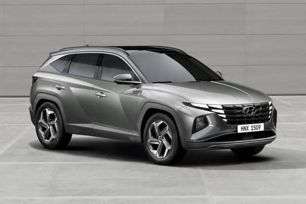 Новый кроссовер Hyundai Tucson: версии для России