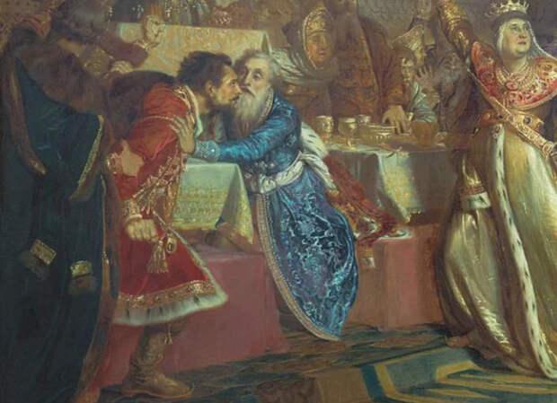 Какие бывают последствия от скандала на свадьбе Cat_cat, История, Россия, Средневековье, Длиннопост