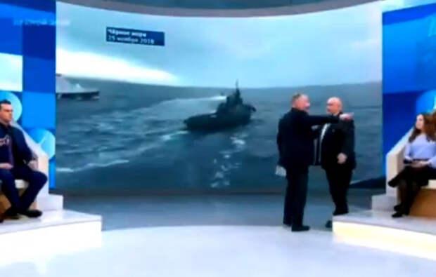 «Все, хватит, пан Зигмунд, закройте рот!»: У ведущего Первого канала лопнуло терпение после речи польского эксперта