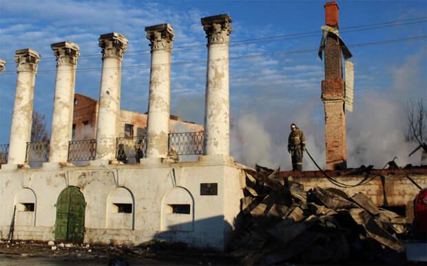 Инспекция по ОКН подала заявление в полицию по факту пожара в Доме Барковых