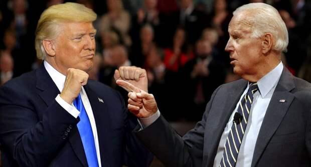 Байден-Трамп...За кого топить будем?! Опрос...