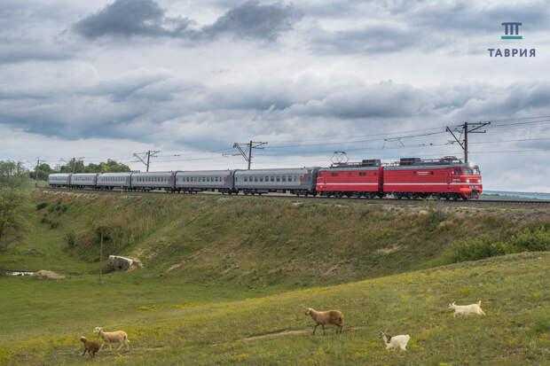 С августа на поезде можно будет доехать из Крыма в Ростовскую область
