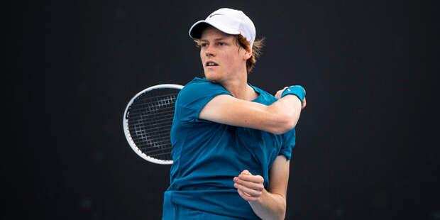 Синнер станет соперником Рублева в четвертьфинале турнира в Барселоне