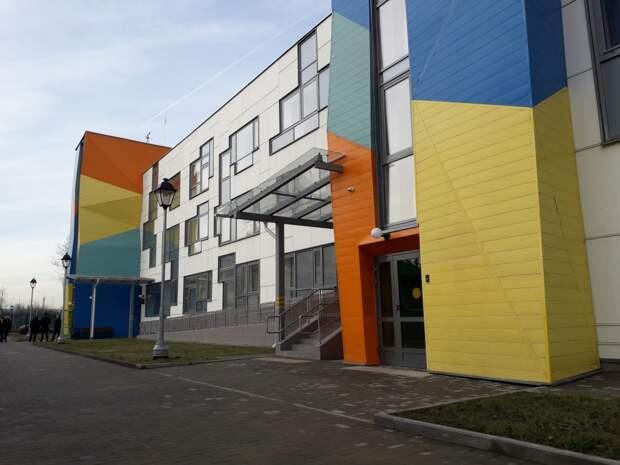Детский сад на Челобитьевском готов на 98 процентов — Сергей Собянин Фото с сайта stroi.mos.ru