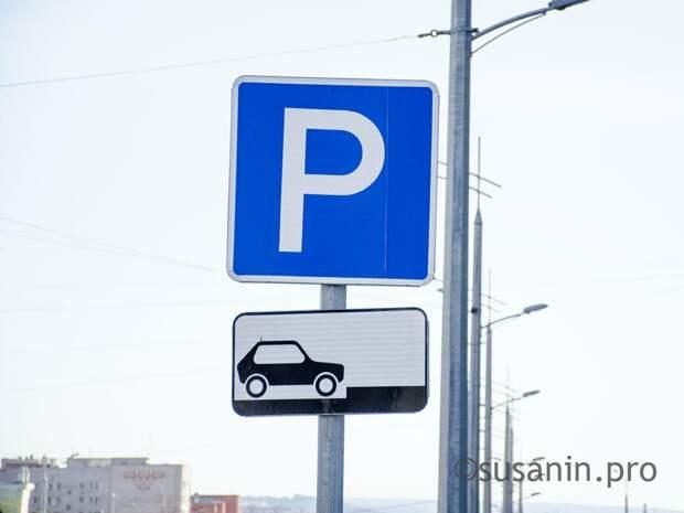 В Ижевске в тестовом режиме заработает парковка с паркоматами и видеокамерами