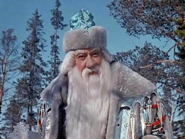 Александр Хвыля в образе Морозко