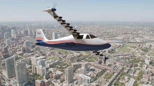 Электрический самолет. Фото: NASA