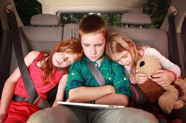 Путешествие в машине с детьми. 12 способов сделать поездку увлекательной