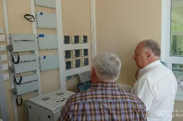 В новой школе Котовска прошла проверка пожарной безопасности