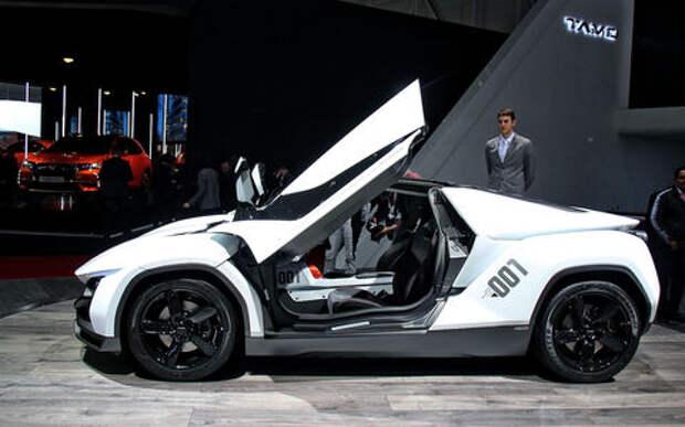 Tamo Racemo: индийский спорткар с итальянским дизайном и концепцией Лотуса