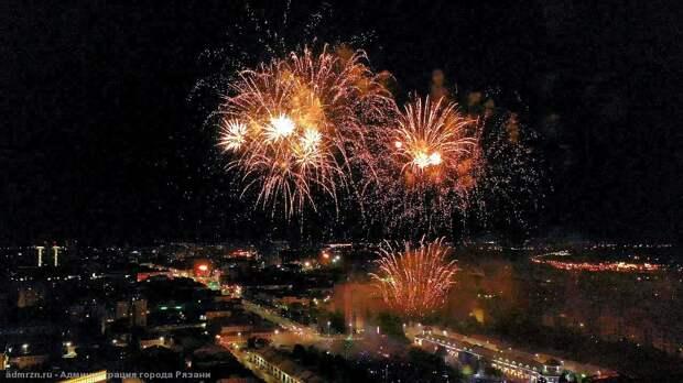 Празднование Дня Победы в Рязани завершится салютом