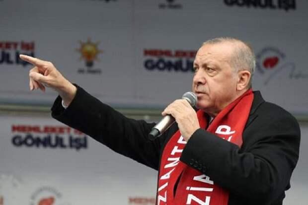 Эрдоган пригрозил премьеру Греции Мицотакису «яростью турок»