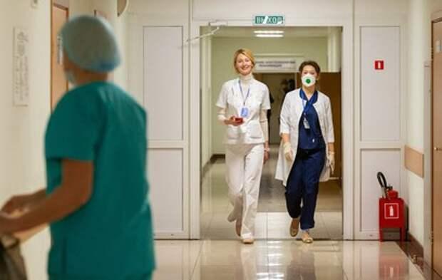Московских медсестер поздравили с профессиональным праздником