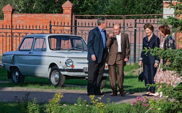 От Харлея до автокрана: заглядываем в гаражи российских политиков