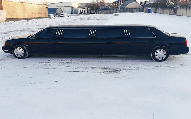 Басков продает лимузин за45000 у.е. Интересно, кто возьмет