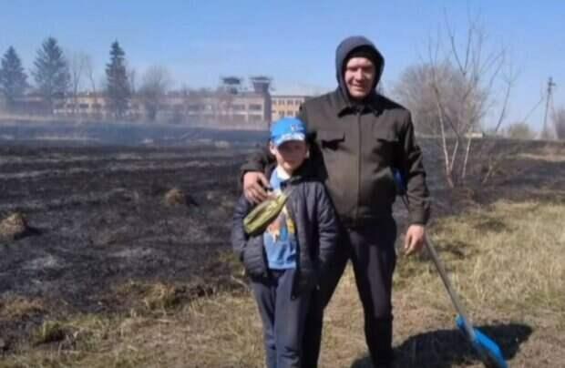 """""""Взрослые не обращали внимания"""": 9-летний украинец спас лес от огня, история героя"""