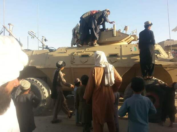 Талибан захватывает Кундуз