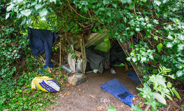 Родственники думали, что мужчина давно пропал без вести, но он просто 6 лет жил в лесу в палатке