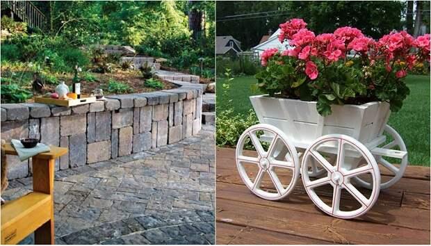 Идеи дизайна сада и огорода своими руками