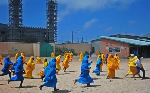 Сомалийские девочки