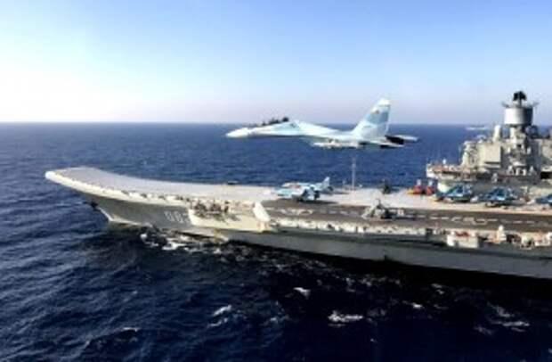 Зачем ВМФ срочно понадобился «Адмирал Кузнецов»