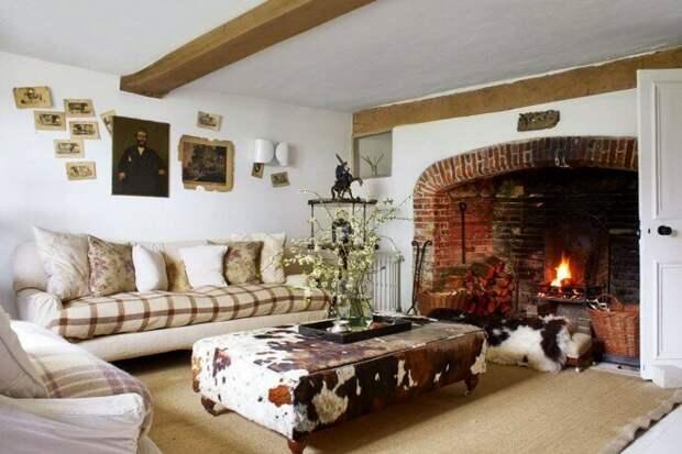 Дом с душой: старинный фермерский дом из камня и дерева, наполненный унаследованной мебелью. Родовое поместье