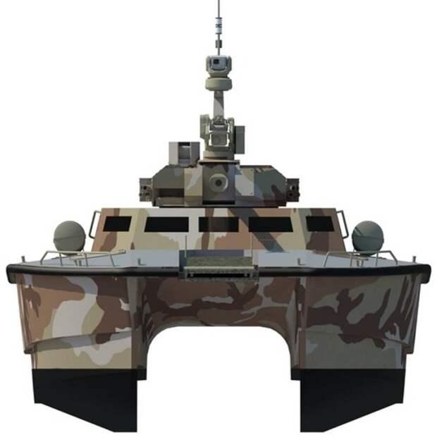 Бронекатер X18 Tank Boat вышел на испытания