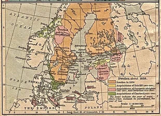Как Пётр начал войну со шведами