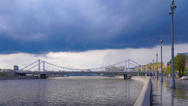 Количество осадков в Москве побило рекорд