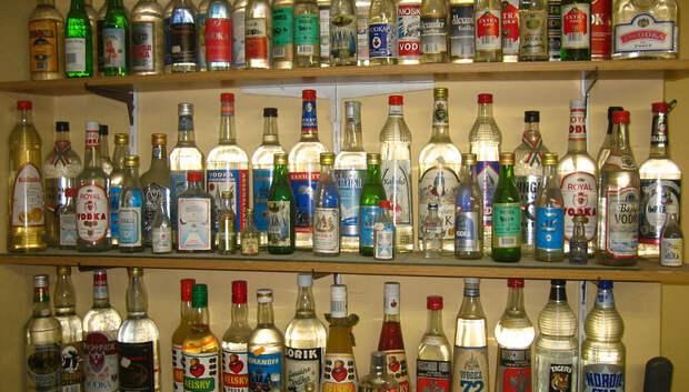 В Подольске выявили магазин, торгующий алкоголем по ночам