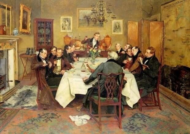 Вестовщиками называли сплетников, которые приходили поесть и поболтать. /Фото: static.tildacdn.com