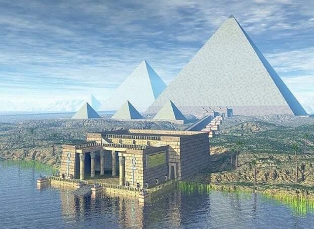 Удивительные свойства пирамид.