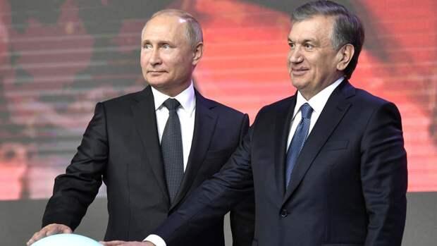 Путин и президент Узбекистана обменялись поздравлениями с годовщиной Победы