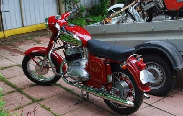 """Восстанавливаем мотоцикл Ява 360 """"Старушка"""""""