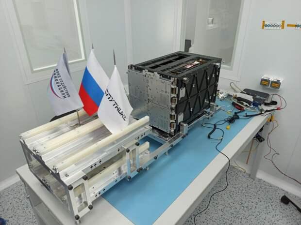 Спутник, разработанный в Строгине, запустили на орбиту
