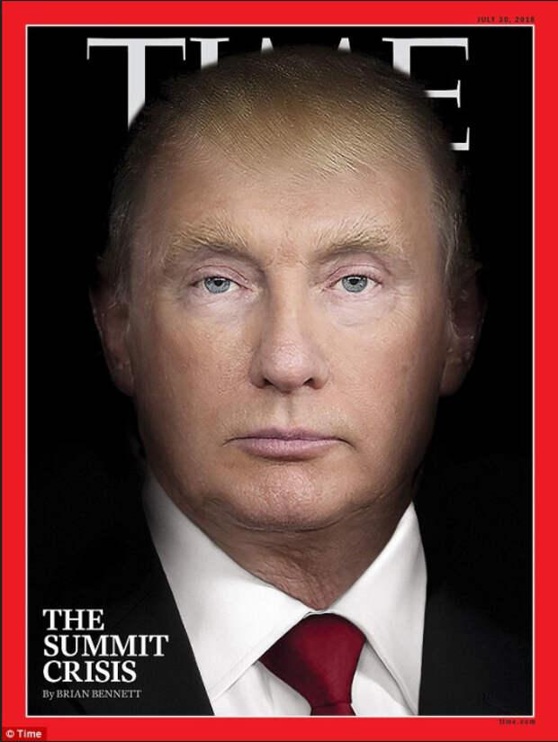 В США посмеялись над портретом «испуганного» Байдена перед встречей с Путиным