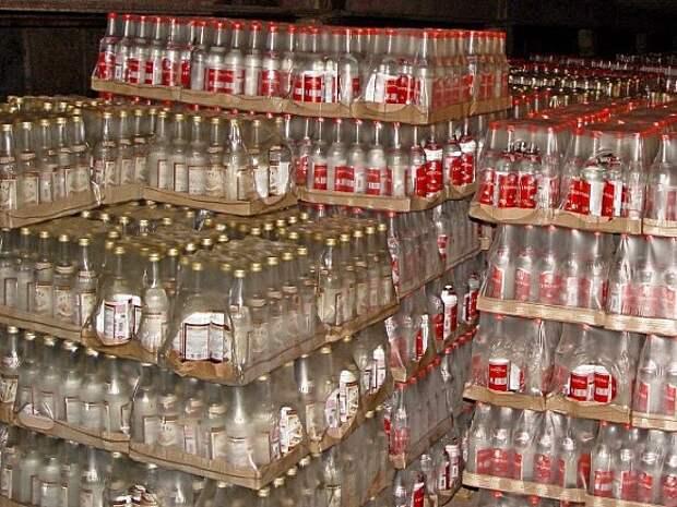 В России за апрель ощутимо сократился выпуск алкогольной продукции