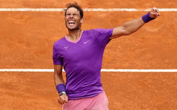 Надаль побил рекорд Федерера по числу выигранных матчей на одном ТБШ