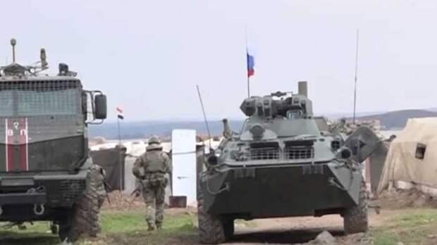 Появилось видео мощной атаки боевиков на район с российскими военными в Айн-Иссе