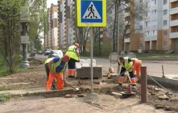В Ярославле начался ремонт улицы Корабельной